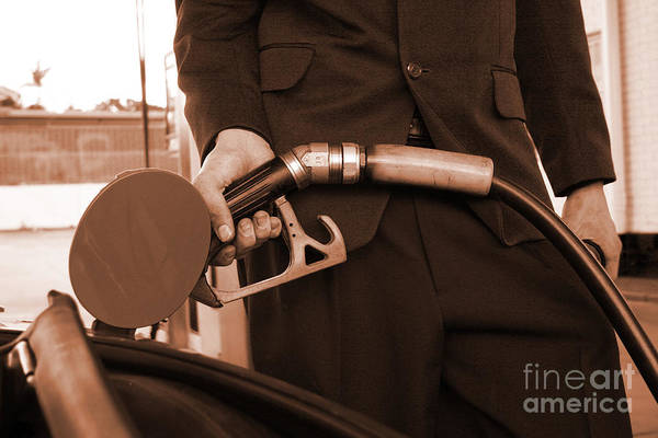 Hand Pump Photograph - Refuelling by Jorgo Photography - Wall Art Gallery