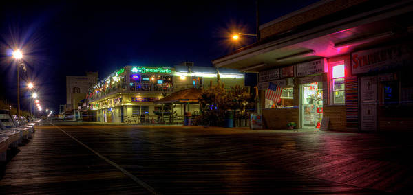 Photograph - Rehoboth Beach Boardwalk by David Dufresne