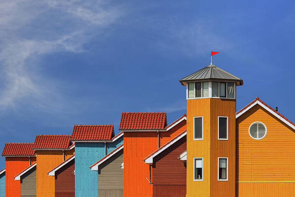 Rooftops Photograph - Reitdiep by Theo Luycx