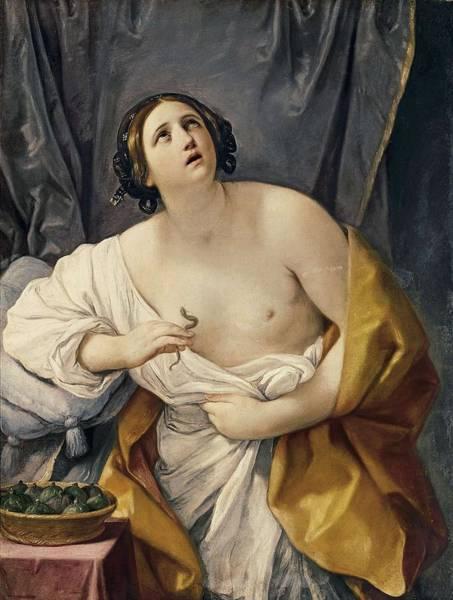 Asps Photograph - Reni, Guido 1575-1642. Cleopatra by Everett