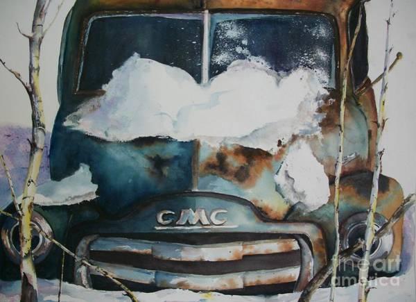 Painting - Resting And Rusting by Carol Losinski Naylor