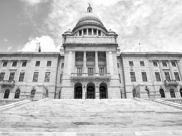 Photograph - Rhode Island State House by Lourry Legarde