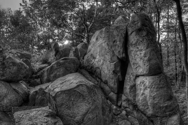 Photograph - Rib Mountain Granite by Dale Kauzlaric