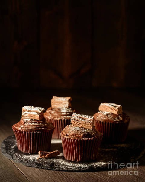 Wall Art - Photograph - Rich Chocolate Cakes by Amanda Elwell