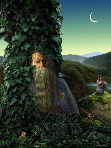 Digital Art - Rip Van Winkle by Bob Nolin