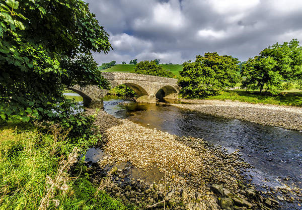 Wall Art - Photograph - River Swale by Trevor Kersley