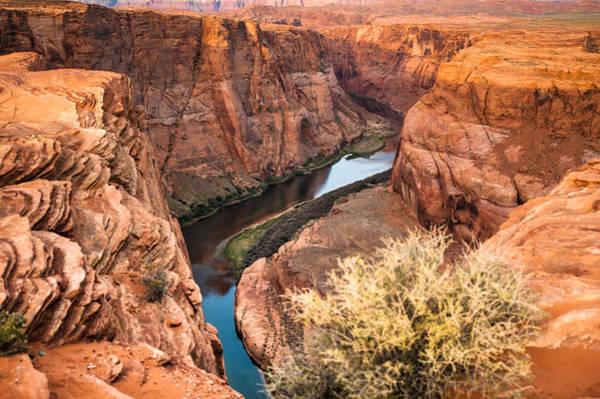 Horseshoe Bend Photograph - River Through Horseshoe Bend by Gregory Ballos