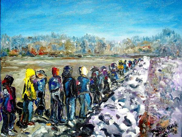 River's Walk Art Print