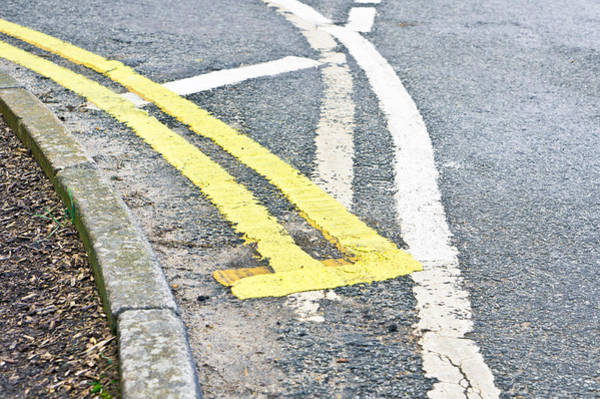 Restriction Photograph - Road Markings by Tom Gowanlock