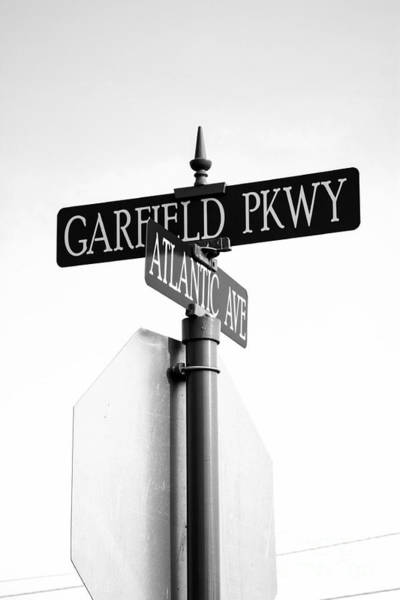 Photograph - Road Sign In The Center Of Bethany Beach Delaware by William Kuta