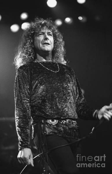 Led Zeppelin Photograph - Robert Plant by Concert Photos