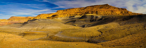 Grand Staircase National Monument Photograph - Rock Formations In A Desert, Grand by Panoramic Images