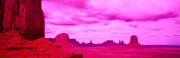 Peacefulness Photograph - Rock Formations On A Landscape by Panoramic Images
