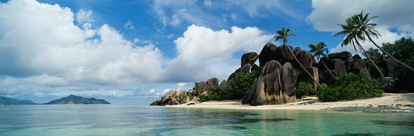 Wall Art - Photograph - Rock Formations On The Beach, Anse by Panoramic Images
