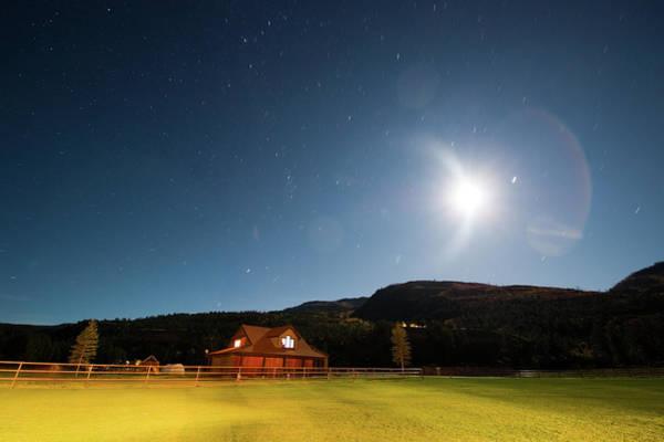 Ranch Photograph - Rocky Mountain Lifestyle by Amygdala imagery