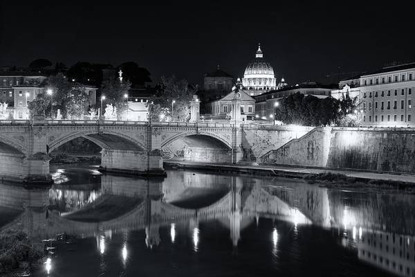 Photograph - Rome At Night by Stephen Taylor