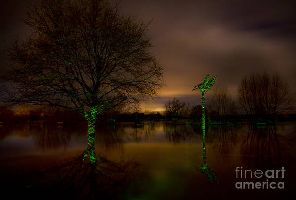Wall Art - Photograph - Ross-on-wye Flooded by Angel Ciesniarska