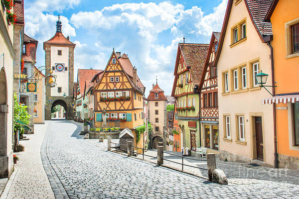 Wall Art - Photograph - Rothenburg Ob Der Tauber by JR Photography