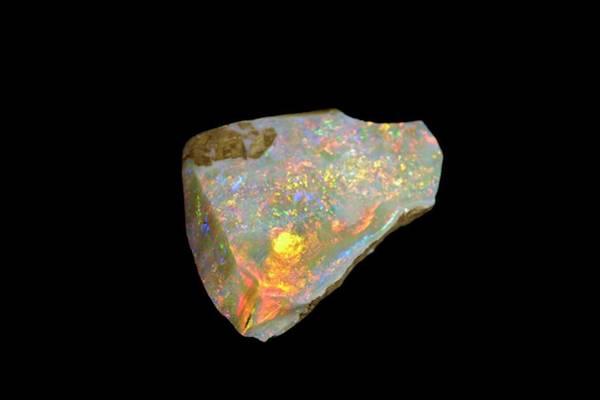 Uncut Photograph - Rough Opal by Bildagentur-online/mcphoto-schulz
