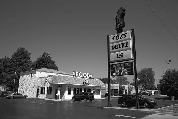 Photograph - Route 66 - Cozy Dog Drive In by Frank Romeo