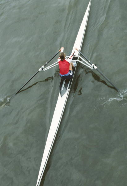 Wall Art - Photograph - Rower by Matthew Munro/science Photo Library