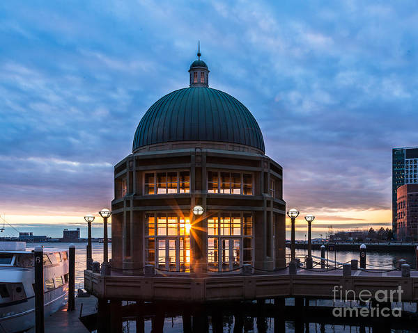 Photograph - Rowes Wharf Sunrise by Susan Cole Kelly