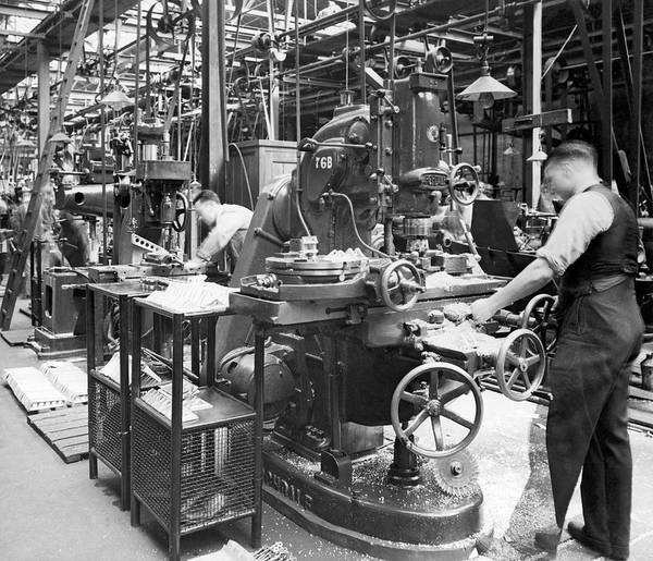 Photograph - Royal Air Force Production by Underwood Archives