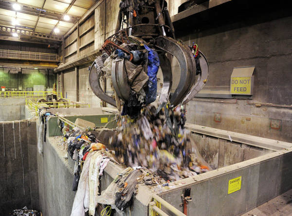 Facilities Photograph - Rubbish At Refuse Facility by Public Health England