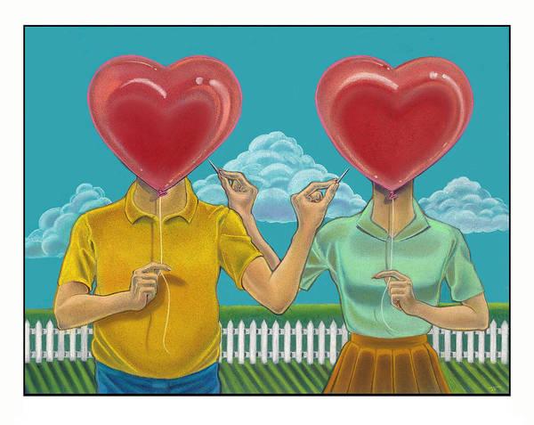 Heart Wall Art - Mixed Media - Rude Awakenings by J L Meadows