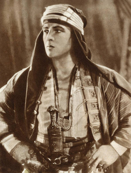 Wall Art - Photograph - Rudolph Valentino   Italian-american by Mary Evans Picture Library
