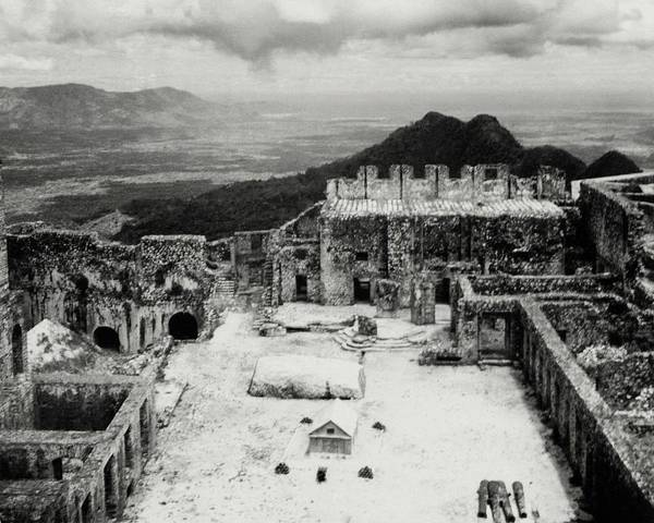 Photograph - Ruins In Haiti by Cecil Beaton