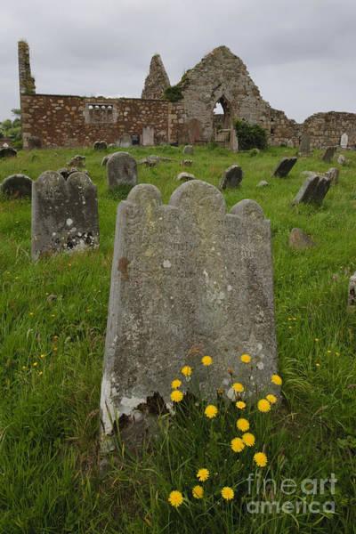 Photograph - Ruins Of Bonamargy Friary, Ireland by John Shaw