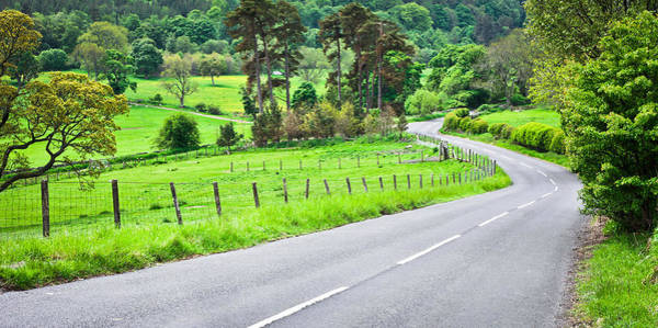 English Countryside Photograph - Rural Road by Tom Gowanlock