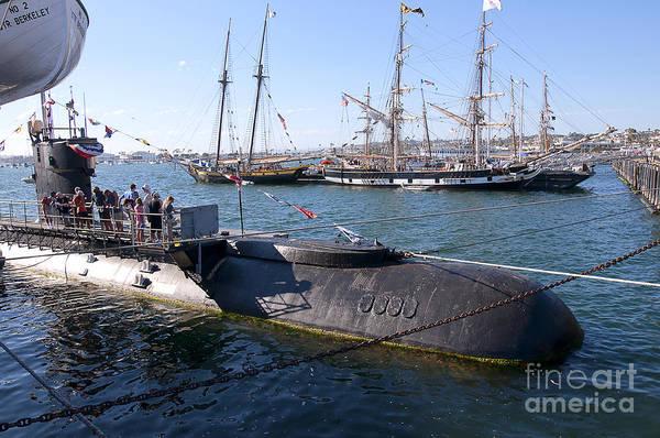 Photograph - Russian Submarine by Brenda Kean
