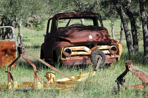 Rust In Peace No. 2 Art Print