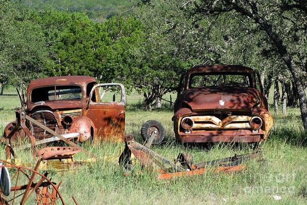 Rust In Peace No. 3 Art Print