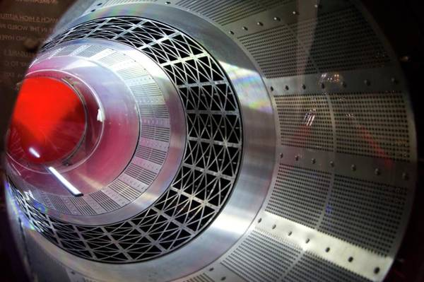 Reaction Wall Art - Photograph - Sabre Rocket Engine Heat Exchanger by Mark Williamson