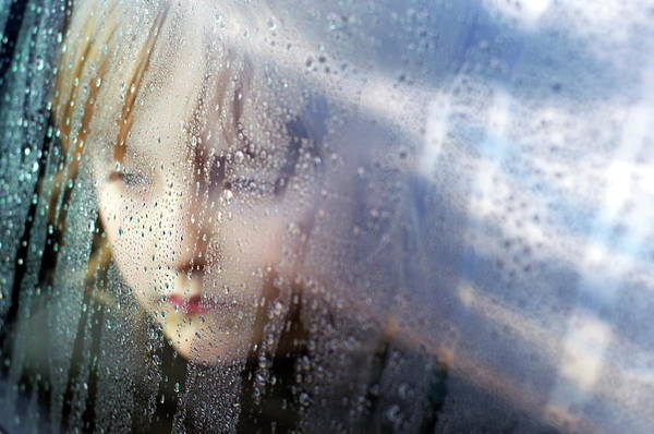 Wall Art - Photograph - Sad Child by Jim Varney/science Photo Library