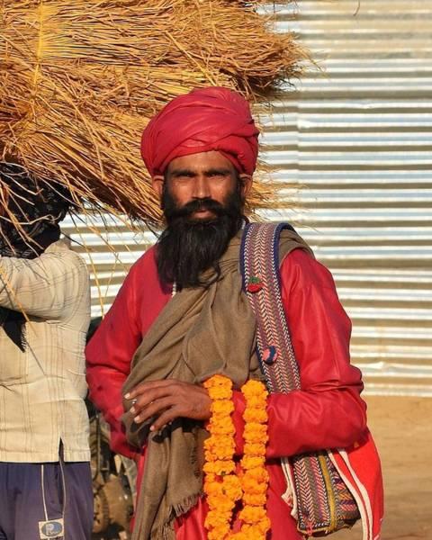 Photograph - Sadhu 54 - Kumbhla Mela - Allahabad India by Kim Bemis