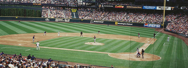 Safeco Field Photograph - Safeco Field Seattle Wa by Panoramic Images