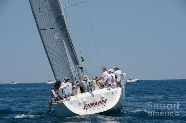 Photograph - Sailboat Race by Randy J Heath