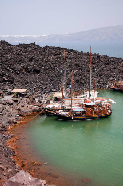 Photograph - Sailing To The Volcano by Brenda Kean