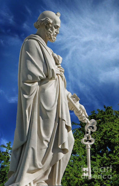 Wall Art - Photograph - Saint Peter With Keys To Heaven by Peter Piatt