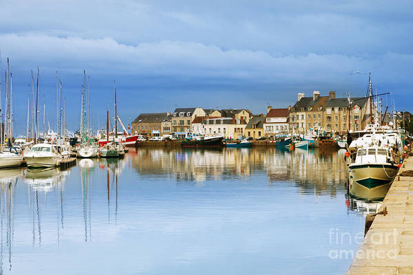 Editorial Photograph - Saint-vaast-la-hougue Normandy France by Colin and Linda McKie