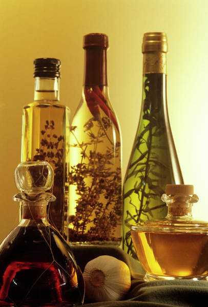 Olive Oil Photograph - Salad Dressings by Sally Mccrae Kuyper/science Photo Library