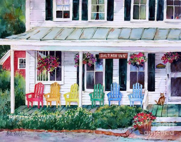 Coolidge Painting - Salt Ash Inn by Sherri Crabtree