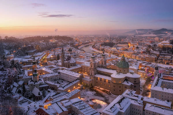 Cathedral Photograph - Salzburg by Richard Vandewalle