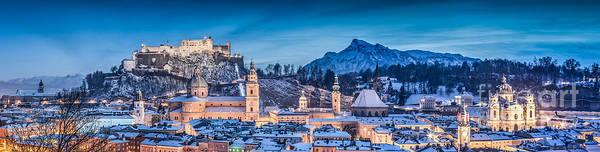 Wall Art - Photograph - Salzburg Winter Romance by JR Photography