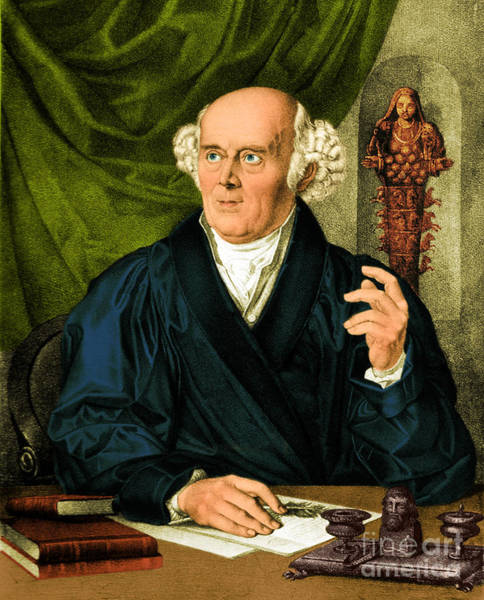 1755 Photograph - Samuel Hahnemann, Physician, Father by Science Source