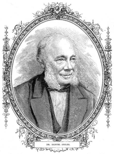 Wall Art - Drawing - Samuel Smiles (1812 - 1904) Scottish by Mary Evans Picture Library